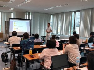 2018年8月 沖縄県産業振興公社様